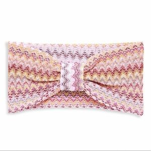 💕HP💕Missoni pink knit headband
